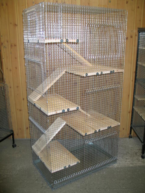 The gallery for --> Homemade Chinchilla Cage
